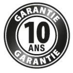 Nos toiles de stores bénéficient d'une garantie jusqu'à 10 ans