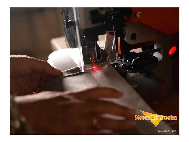 Réparation de bâches- Réparation de toiles de stores - Réparations d'auvents - Réparation de parasols