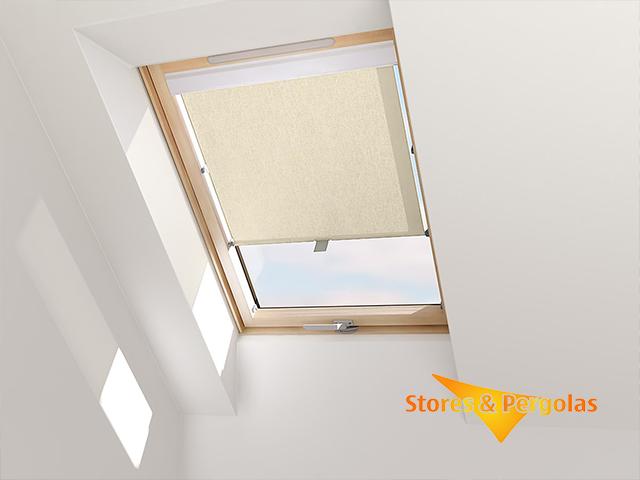 Stores de fenêtre de toit type Velux®