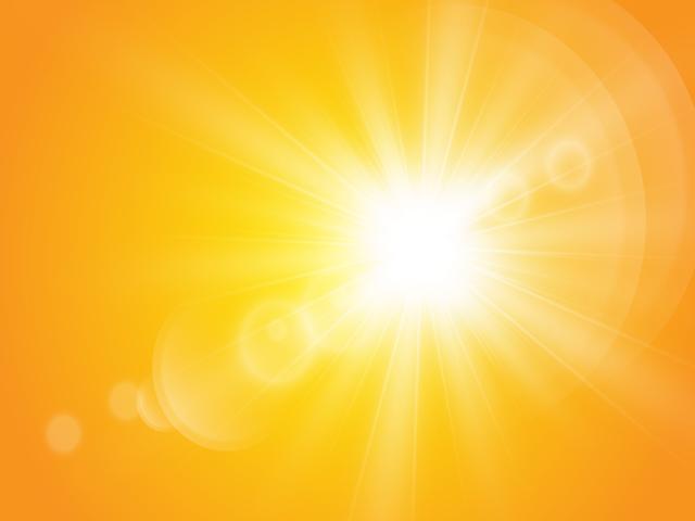 Soleil aveuglant