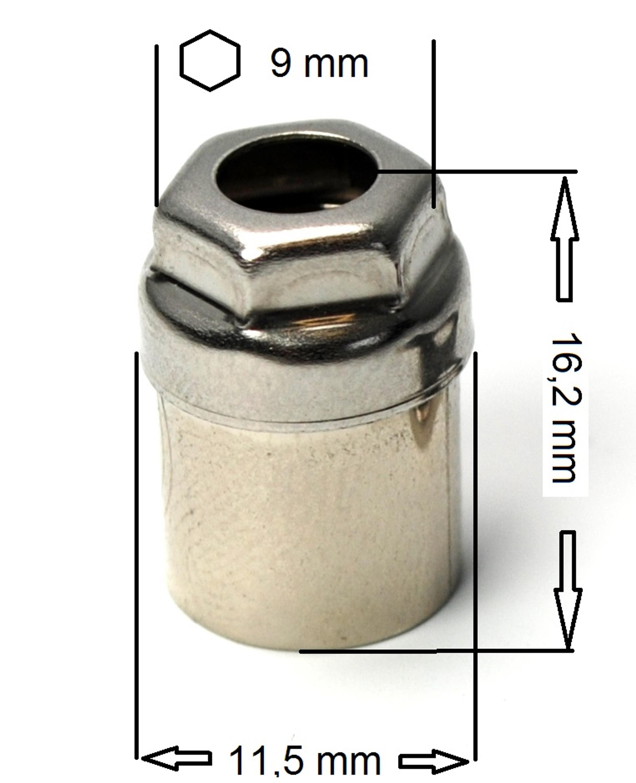 LOXX® - Petit outil de découpe pour tissus/bâches - Nickel